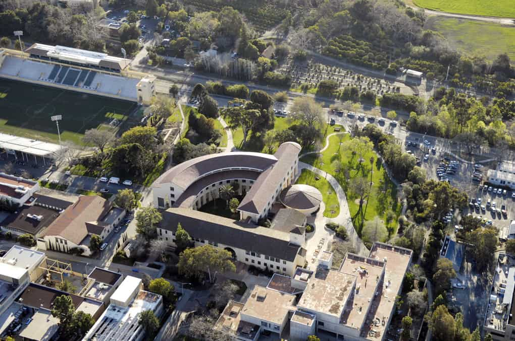 Cal Poly Building Aerial 72
