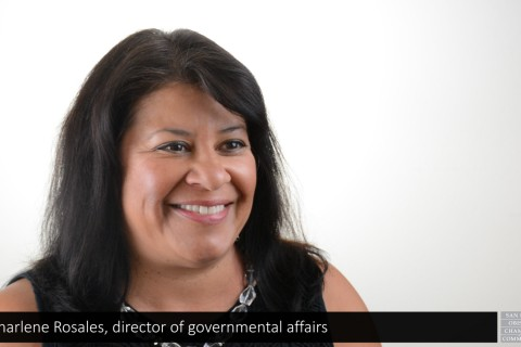 Charlene Rosales Legislative video September 2015