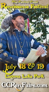 Central Coast Renaissance Festival, July 18-19 2015 at Laguna Lake Park in San Luis Obispo
