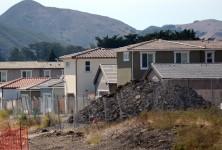 Construction at Serra Meadows in San Luis Obispo