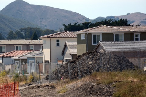 Construction at Serra Meadows in San Luis Obispo