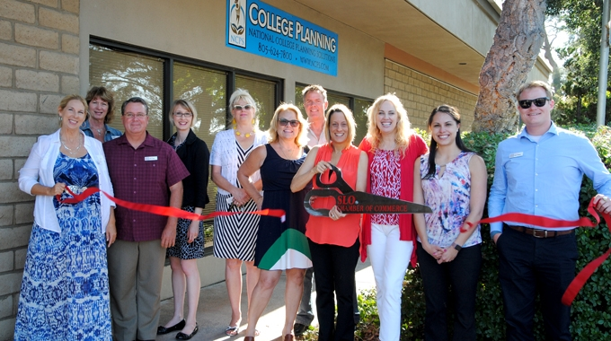 Ribbon cutting: National College Planning Solutions
