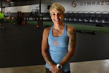 Louellen Ferreira at Gymnazo in San Luis Obispo.