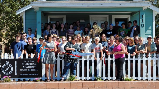 Ribbon Cutting | San Luis Obispo Classical Academy