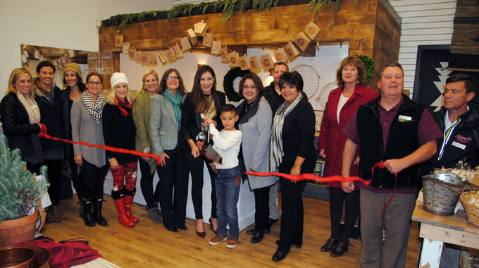 Ribbon Cutting | Letter and Grain