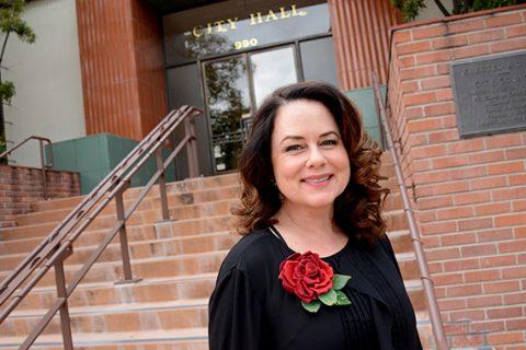 Heidi Harmon, the mayor of San Luis Obispo California.