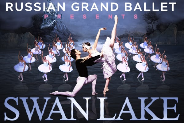 Russian Grand Ballet presents Swan Lake at the Clark Center