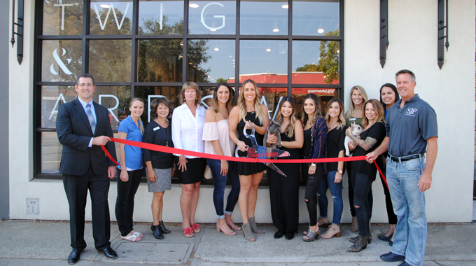 Ribbon Cutting | Twig & Arrow Salon