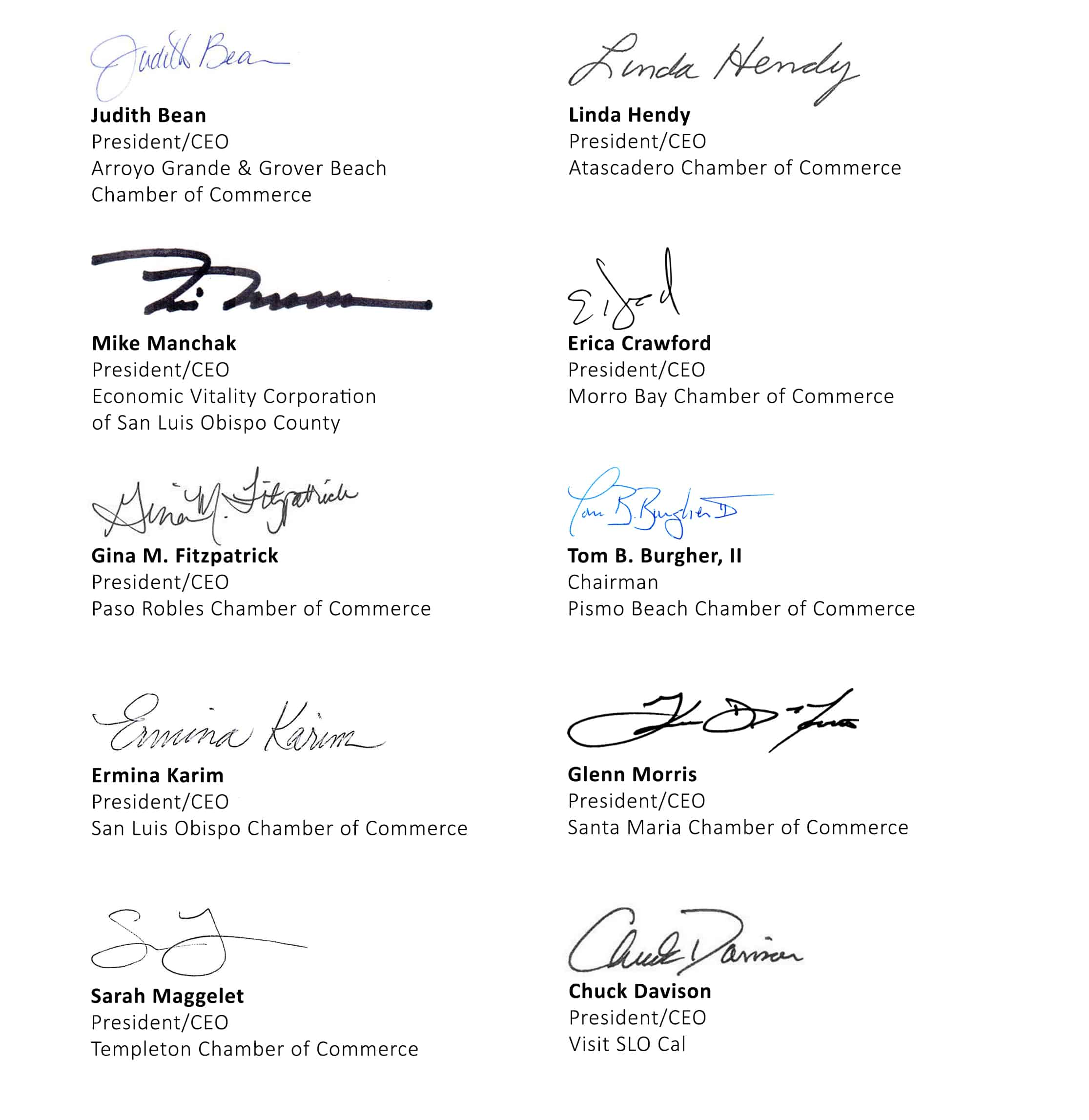 CPUC Diablo Canyon signatories