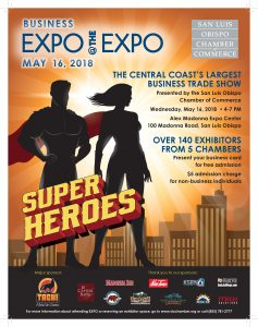 2018 Expo 8.5 x 11 w Super Heroes w sponsors