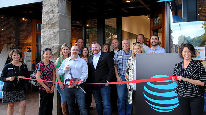 Ribbon Cutting | Spring Mobile AT&T Store