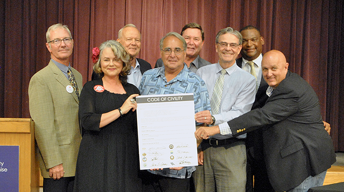Elected officials across SLO County pledge civility