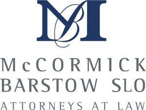 McCormick Barstow SLO