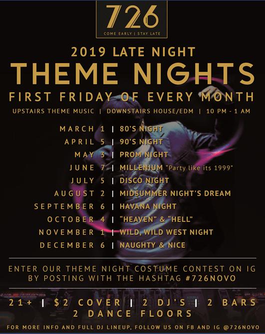 726 Late Nights at Novo: Millennium