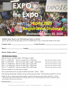 2020 expo at the expo