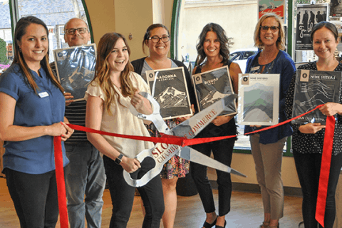 Amandalee Design, ribbon cutting