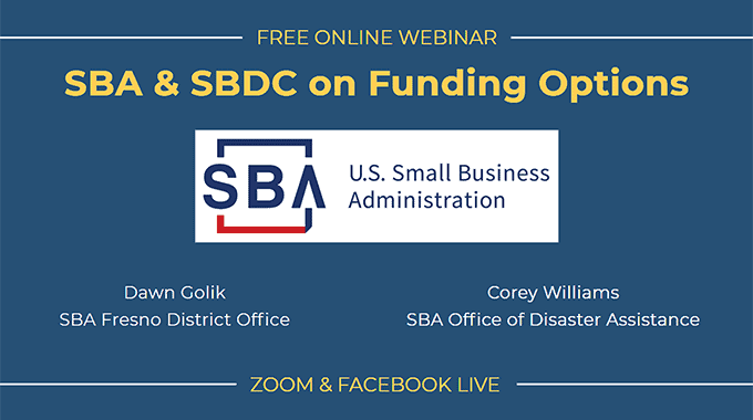 sba sbdc funding options