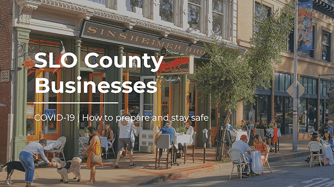"""SLO County heads towards CA's """"watch list"""": How your business should prepare now"""