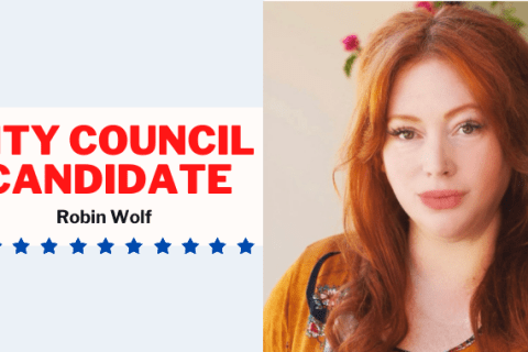 Robin Wolf SLO Mayoral Candidate