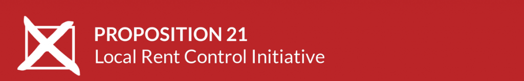 Proposition 21 2020 Election