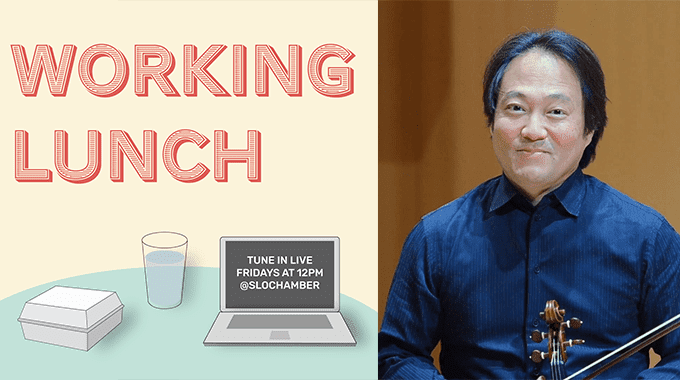 working lunch with scott yoo