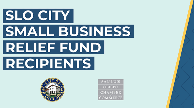 Recipients announced for second round of SLO City Small Business Relief Fund