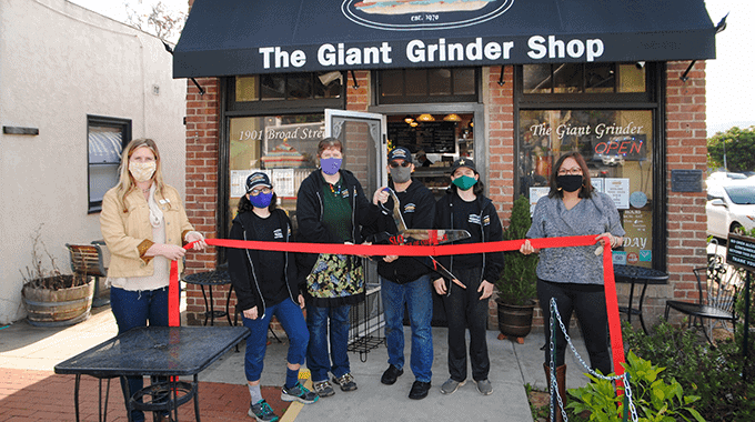 Ribbon Cutting | The Broad Street Giant Grinder