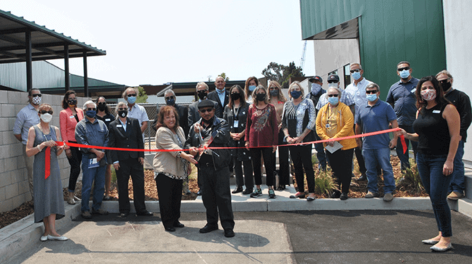 Ribbon Cutting   CAPSLO's Medically Assisted Withdrawal Treatment Center
