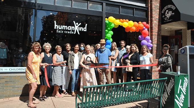 Ribbon Cutting   HumanKind Fair Trade