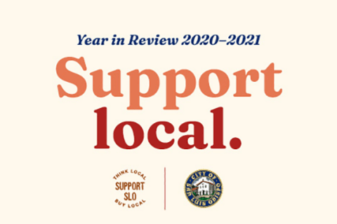 Support Local. 2021 Year in Review.